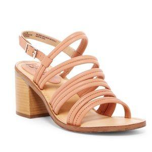 Latigo nude Vacation Heeled sandal